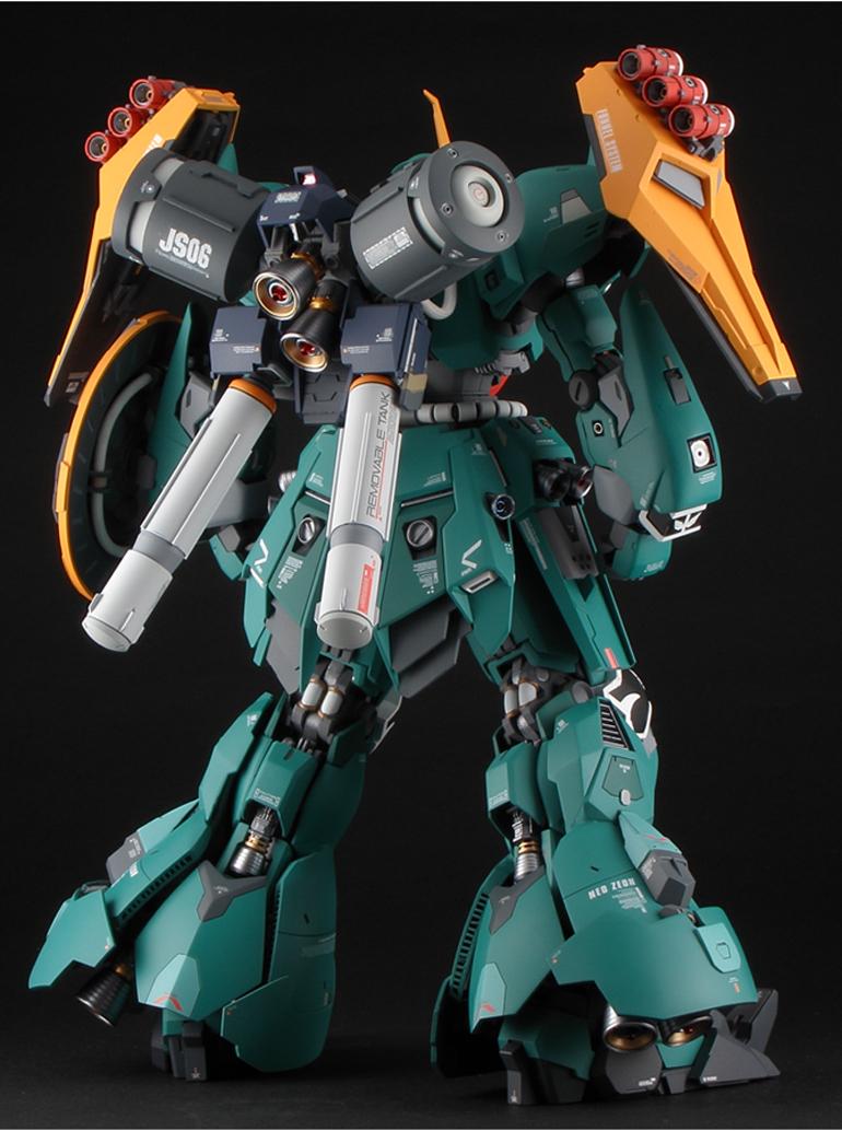 Custom Build: MG 1/100 JAGD SINANJU [19th All Japan Ora-Zaku Championships]