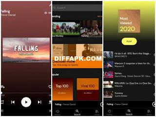 YTPlayer – YouTube, Spotify & Soundcloud Downloader Premium Apk v2.7