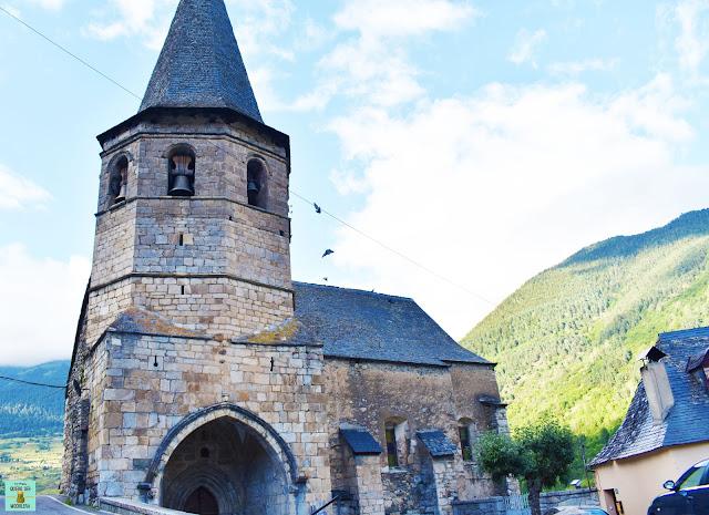 Iglesia de Gausac en la Val d'Aran