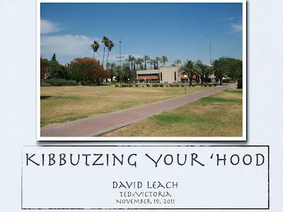 Kibbutzing Your 'Hood