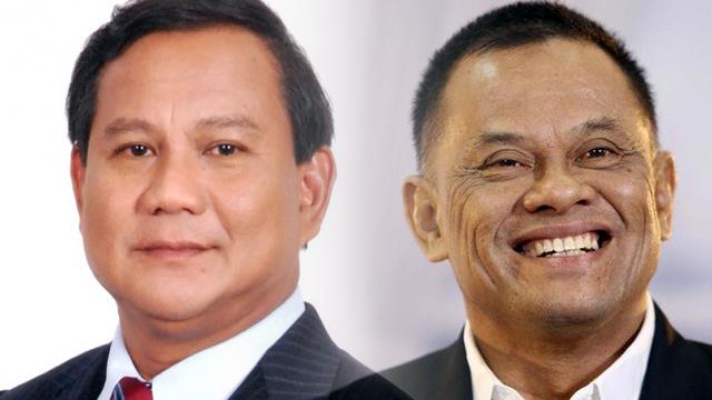 Ditanya soal Gatot Maju di Pilpres 2019, Ini Jawaban Prabowo
