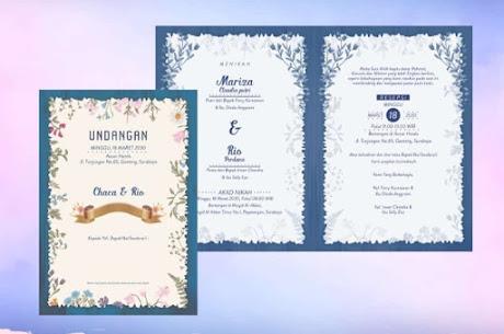 cara cetak undangan pernikahan