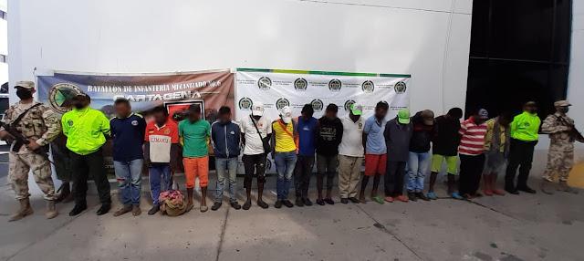 Por bloquear vías en La Guajira otros 15 capturados,