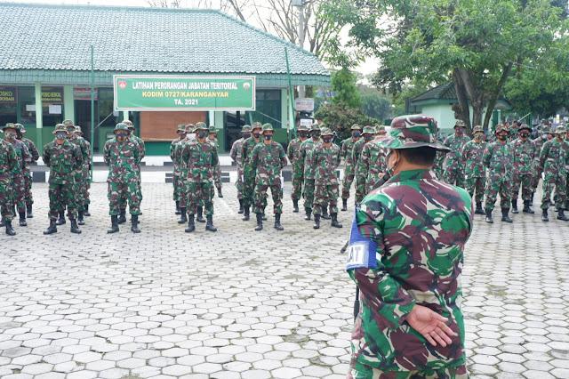 Tingkatkan Kesiapan Prajurit Melalui Latihan Perorangan Jabatan