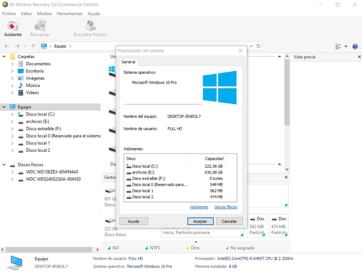 RS Partition Recovery 3.0 Commercial