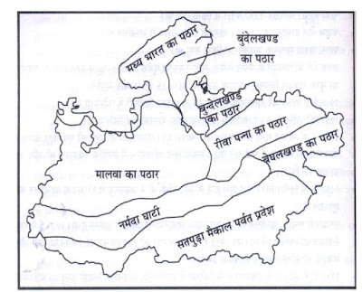 Geographical Structure of Madhya Pradesh