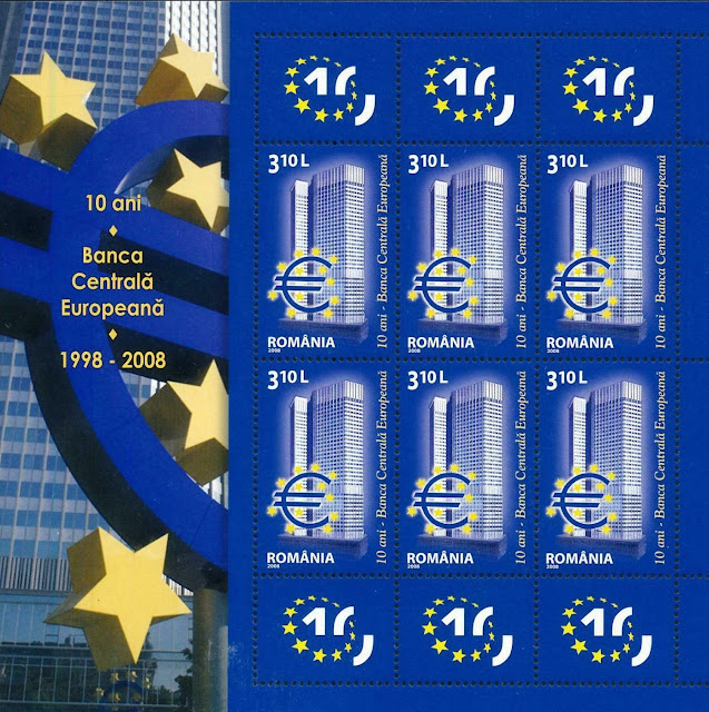 Romania 2008 European central bank Sheet