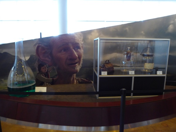 The BFG movie prop exhibit