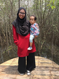 review celana dari Matchbox by Yuna & Co. untuk hijab