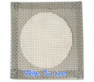 A Labelled Wire Gauze LAboratory Equipment