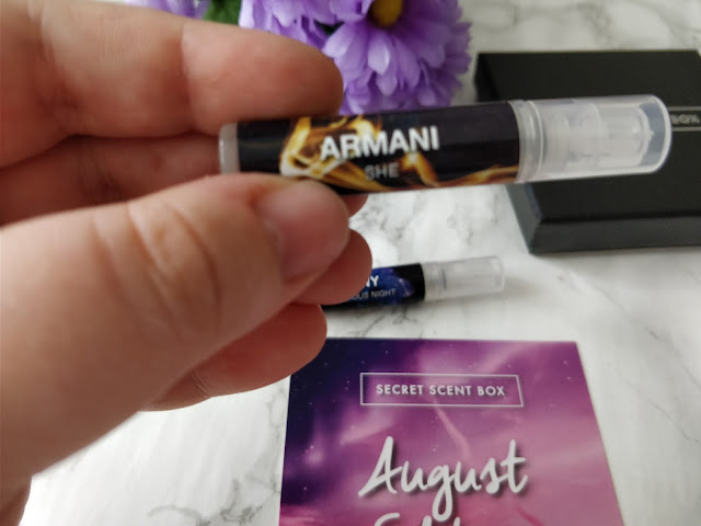 Secret Scent Box- Armani She