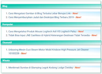 Sitemap Blog