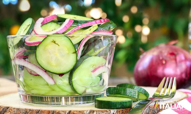 Cucumber Vinegar Salad image