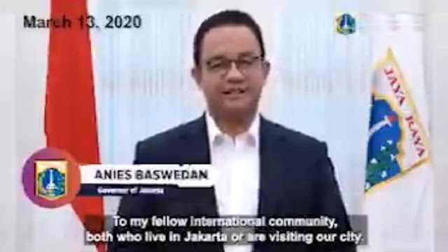 Presiden Yang Tertukar, Anies Sampaikan Pesan Berbahasa Inggris Terkait Penanganan Corona Kepada Komunitas Internasional
