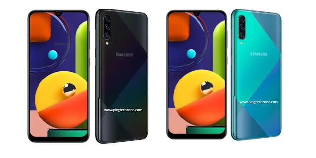 Samsung Galaxy a50s mobile image