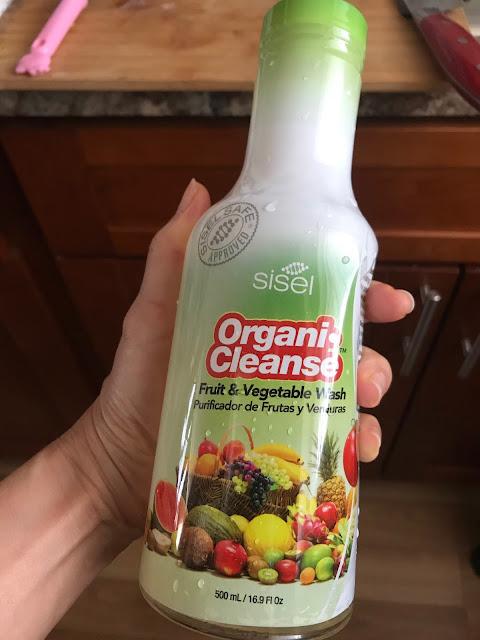 シズルの果物や野菜を洗う洗剤
