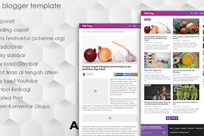 Cabe Pedas, Template Blogger Versi Baru SEO Responsive Mobile Friendly