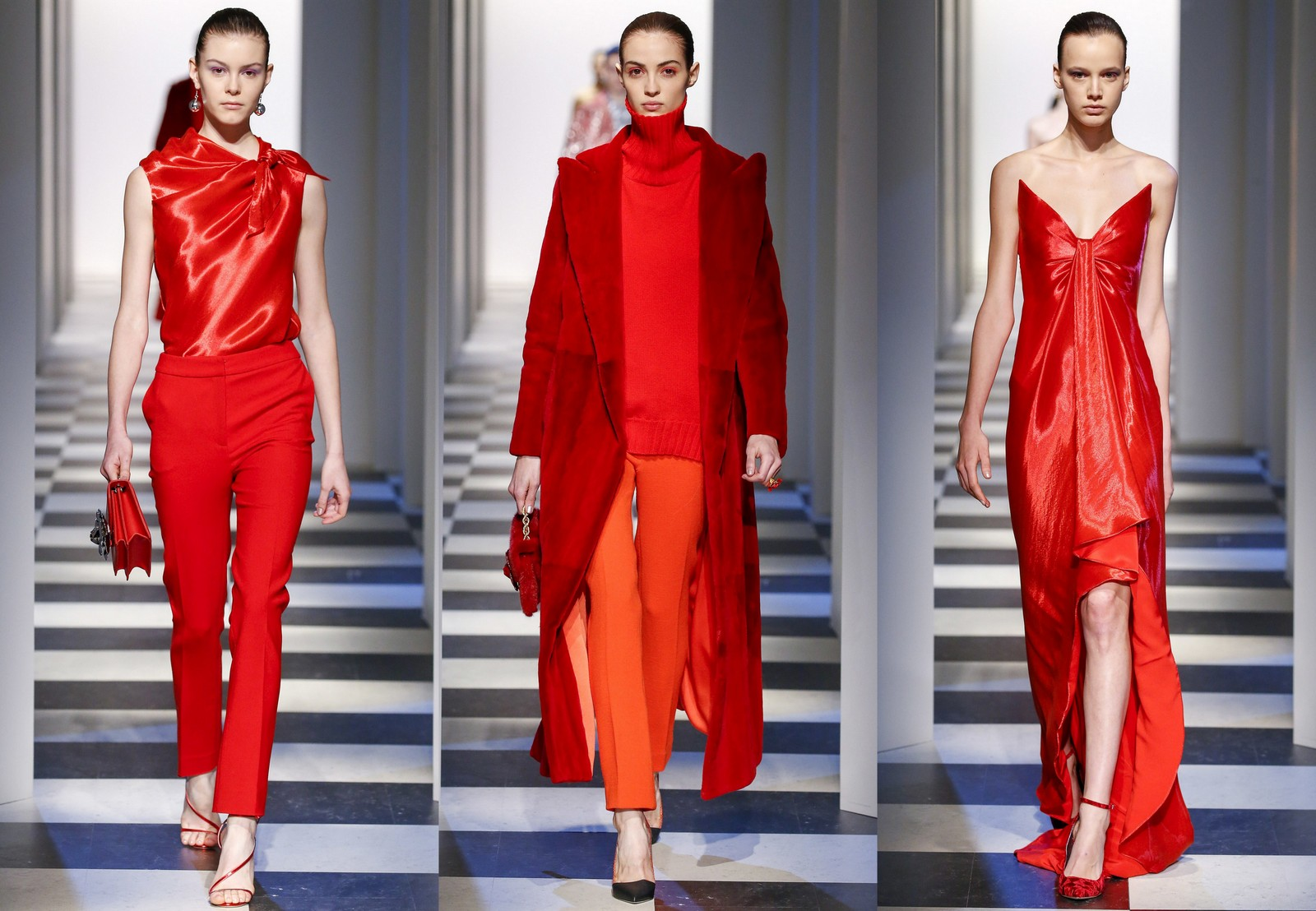 Fashion Inspiration : Color Trend Red Fall/Winter 2017 ...