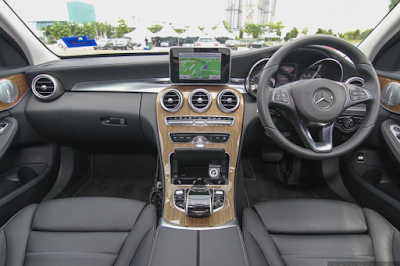 Interior Mercy W205 C250 Exclusive