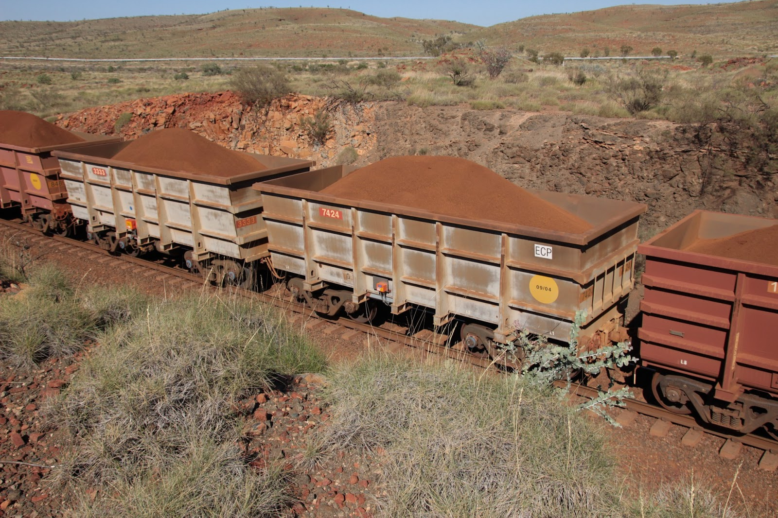 Barcoola: Pilbara Rio Tinto 2013 operations