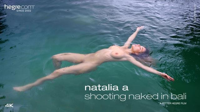 [Hegre-Art] Natalia A - Shooting Naked In Bali