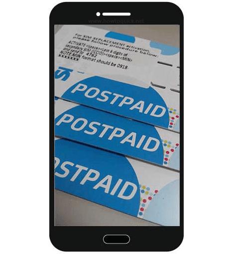 Smart Postpaid SIM Card Replacement Activation Procedure