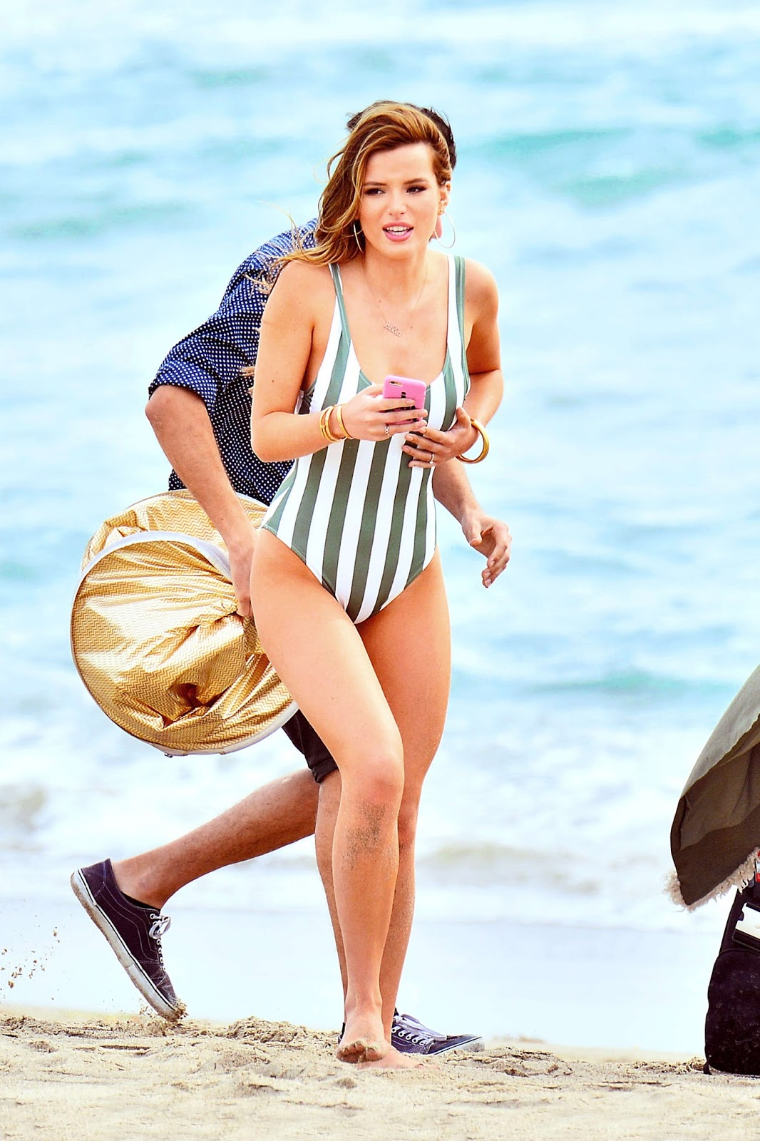 Bella Thorne Steams Up the Beach in Swimsuit Photoshoot