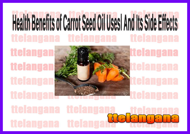 Health Benefits of Carrot Seed Oil Usesl And Its Side Effects