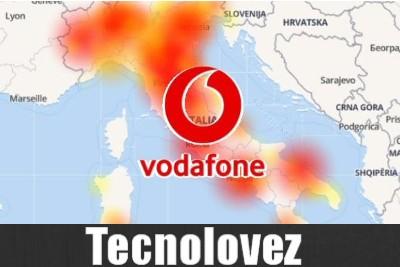 Vodafone down - Disservizi in tutta Italia su rete fissa e mobile