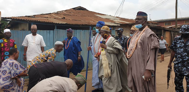 Olota, other Awori monarchs pay condolence visit to late Nasirudeen Deinde family - newsheadline247.com