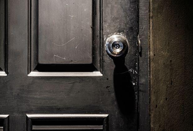 Μαύρη πόρτα