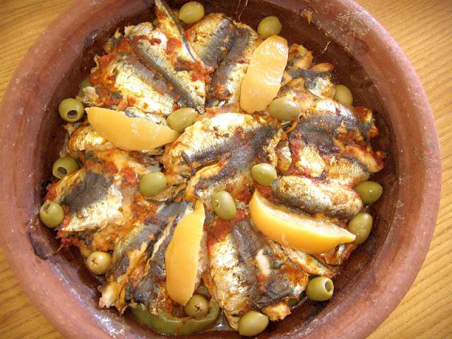 Como preparar Tajín de Sardinas | La gastronomía marroquí
