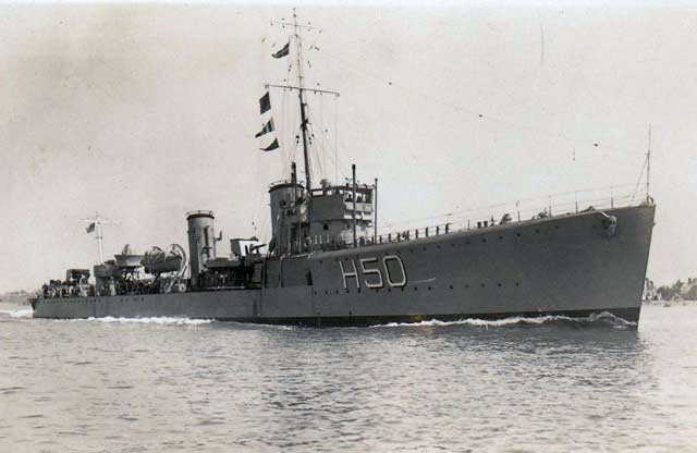 HMS Stronghold, sunk on 2 March 1942 worldwartwo.filminspector.com