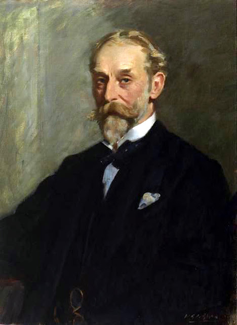 Portrait of Lawrence Alexander, Wilfrid Gabriel de Glehn, International Art Gallery, Self Portrait, Art Gallery, Wilfrid Gabriel, Portraits of Painters, Fine arts, Self-Portraits, Painter Wilfrid Gabriel de Glehn