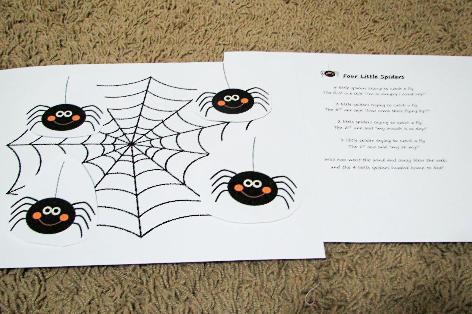 Mommy S Little Helper Letter S Spider Preschool Theme