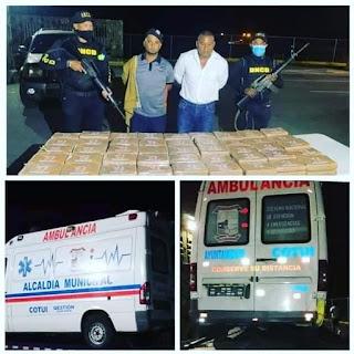 No era cocaina lo encontrado en ambulancia transportaban en Grúa en Los Pilones, Azua.