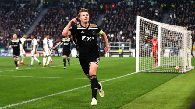 Berita Transfer: Kunci €70 Juta, Matthijs De Ligt Menuju Juventus