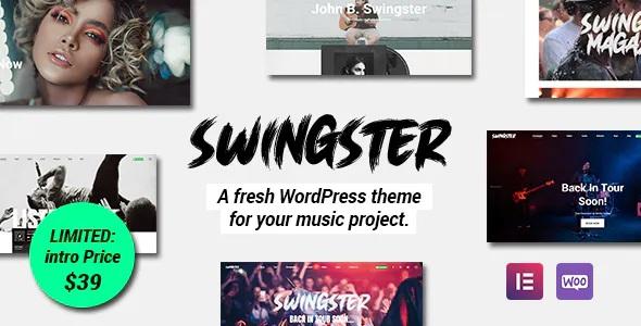 Best Elementor Music WordPress Theme