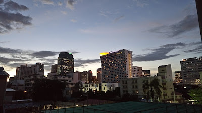バンコクの夕暮れ