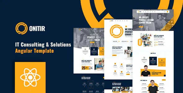 Best IT Solutions & Services React Template