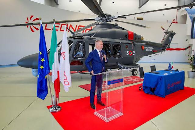 Leonardo delivers HH139B Italian Air Force