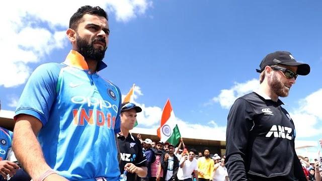 India vs New Zealand Full Schedule