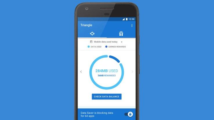 Triangle-Data-Monitoring-App