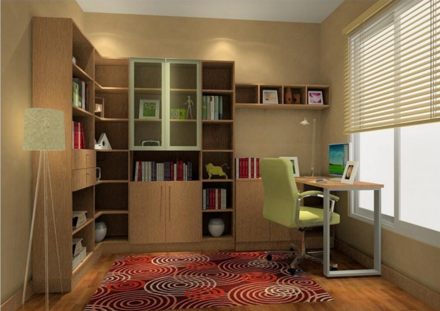 Interior design ideas - Study room furniture designe ...