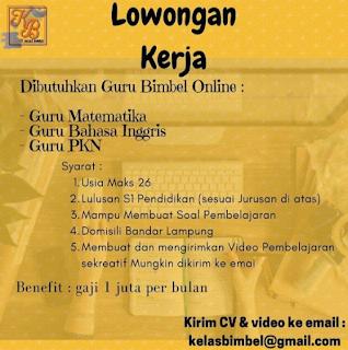 Lowongan Kerja GURU di Lampung