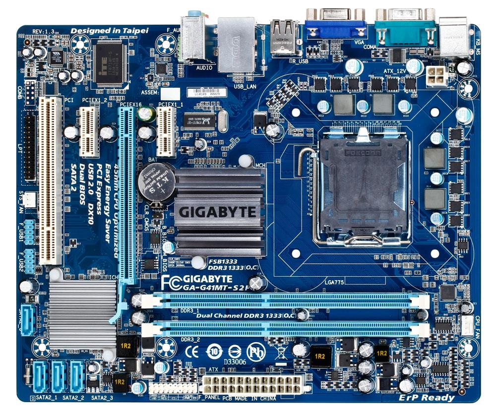 EssentialBD: Motherboard: Gigabyte GA-G41MT-S2P