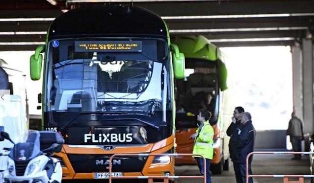 فرنسا توقف حافلة بمدينة ليون قادمة من ميلانو  الإيطالية بعد شكوك في إصابة بفيروس كورونا
