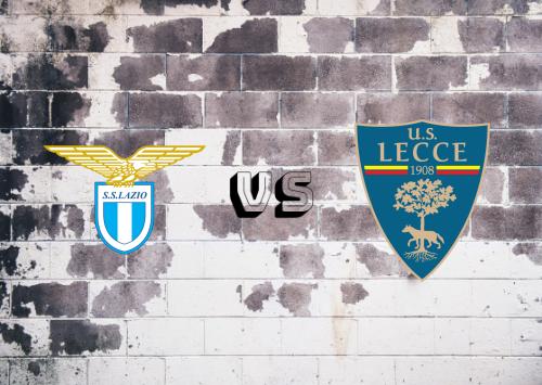 Lazio vs Lecce  Resumen