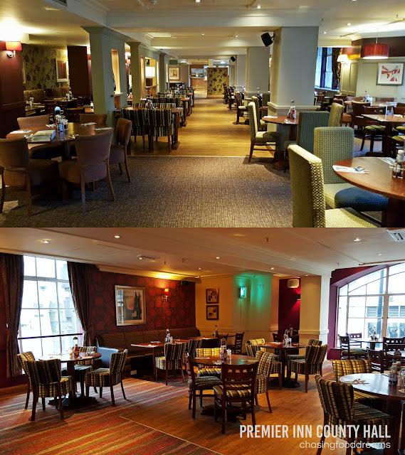 Thyme Restaurant London Premier Inn