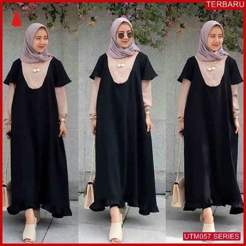 UTM057A76 Baju Amanda Muslim Maxi UTM057A76 039 | Terbaru BMGShop